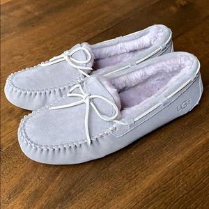NIB UGG Soft Amethyst Dakota Slippers
